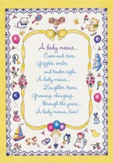 Little Miracles, New Baby Cards, Box of 12