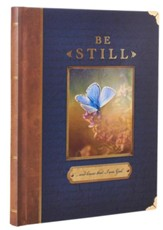 Be Still, Blue and Brown Classic Journal