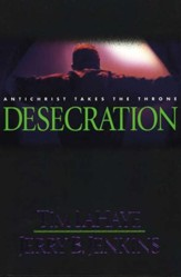 Desecration, Left Behind Series #9, Hardcover  - Slightly Imperfect