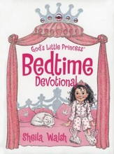 God's Little Princess Bedtime Devotional  - Slightly Imperfect