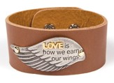 Love Leather Strap Bracelet