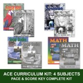 ACE Core Curriculum (4 Subjects), Single Student Complete PACE & Score Key Kit, Grade 9, 3rd Edition