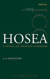 Hosea: International Critical Commentary [ICC]