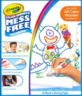 Crayola, Color Wonder Blank Coloring Pages