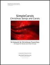 Simple Carols: Christmas Songs And Carols Chord Charts: (Arranged For Bands and Individuals) - PDF Download [Download]