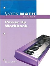 Saxon Math Intermediate 4 Power Up Workbook