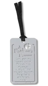A Father's Prayer Metal Bookmark