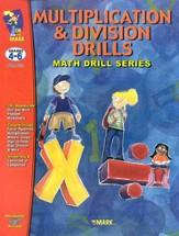 Multiplication & Division Drills Gr.  4-6 - PDF Download [Download]