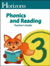 Horizons Phonics & Reading Grade 3 Teacher's Guide
