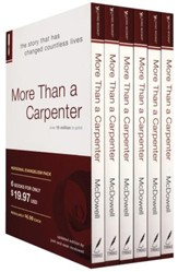 More Than a Carpenter, 6 Copies--Personal Evangelism Pack