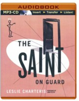 #25: The Saint on Guard - unabridged audio book on CD