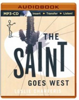 #23: The Saint Goes West - unabridged audio book on CD