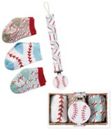 Baseball Sock & Pacy Clip Set
