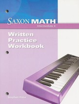 Saxon Math Intermediate 4 Written Practice Workbook