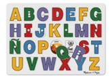 See-Inside Spanish Alphabet Peg Puzzle