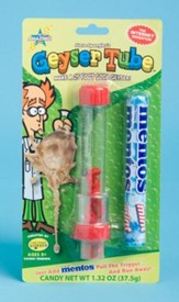 Geyser Tube (Blister Card Packaging with Mentos)