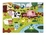 Farm Animals Puzzle, 20 Pieces