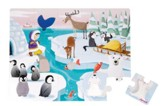 Life on the Ice Puzzle, 20 Pieces