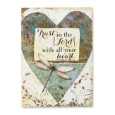 Trust In the Lord With All Your Heart Wall Art
