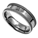 I Know, Silver Champagne Ring, Size 9