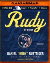 Rudy: My Story - unabridged audio book on MP3-CD