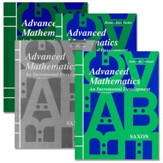 Saxon Advanced Math Homeschool Kit with Solutions Manual, 2nd Ed.