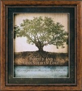 Rooted and Grounded in Love Framed Print