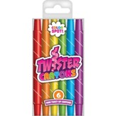 Mini Twister Crayons, Package of 6