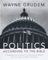 Politics - According to the Bible: A Comprehensive Resource for Understanding Modern Political Issues in Light of Scripture - Slightly Imperfect