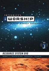 iWorship Resource System DVD, Volume J - Slightly Imperfect