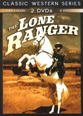 TV Classic Westerns: The Lone Ranger, 2-DVD Set