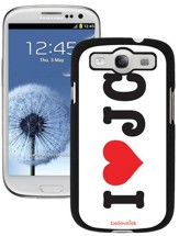I Heart JC Galaxy 3 Case
