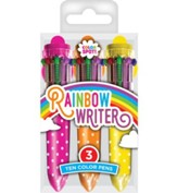Mini Rainbow Ten Color Pens, Package of 10