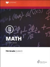 Grade 7 Math LIFEPAC 3: Decimals (Updated Edition)