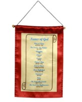 Names of God Banner, small