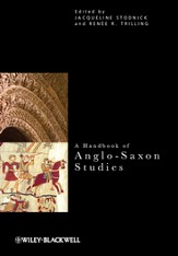 A Handbook of Anglo-Saxon Studies - eBook