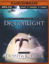 DragonLight #5 - unabridged audio book on MP3-CD