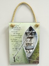 Serenity Prayer Plaque, Indoor or Outdoor