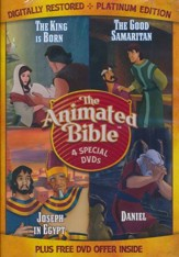 The Animated Bible: 4 Special DVDs
