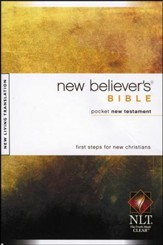 NLT New Believer's Bible, Pocket NT, Softcover