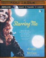 Starring Me - unabridged audio book on MP3-CD
