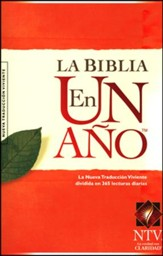 La Biblia NTV En Un A�o, Enc. R�stica  (NTV One Year Bible, Softcover)