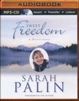 Sweet Freedom: A Devotional - unabridged audio book on MP3-CD
