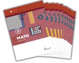 Lifepac Math, Grade 5, Workbook Set  (2016 Updated Edition)