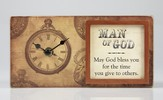 Man of God Block, with Clock