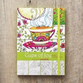 Cups Of Joy, Adult Coloring Book