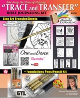 Trace and Transfer Bible Journaling Kit