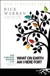 The Purpose-Driven Life: What on Earth Am I Here For?  Expanded Edition, Largeprint, Softcover - Slightly Imperfect