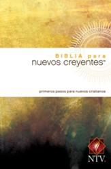 Biblia para Nuevos Creyentes NTV, Enc. Rústica  (NTV New Believer's Bible, Softcover) - Slightly Imperfect