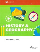 Grade 2 History & Geography LIFEPAC 1: Looking Back  (2017 Updated Edition)
